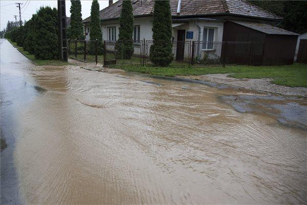 Vihar - Fákat döntött ki, háztetőket rongált meg a szél a Dunántúlon